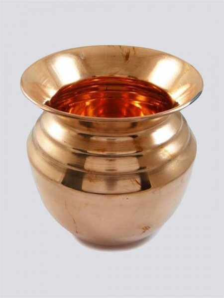 Traditional Pure Copper Pooja Lota