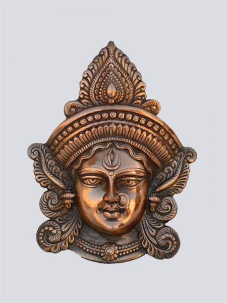 Goddess Durga Metal Wall Hanging