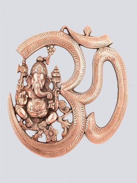Lord Ganesha with Om Wall Hanging