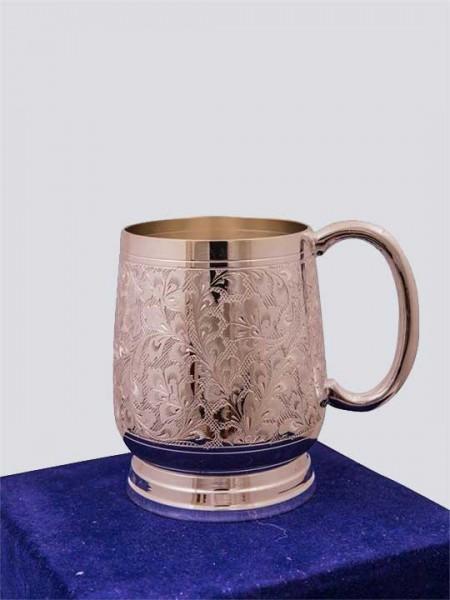 Silver Plated Beer Mug