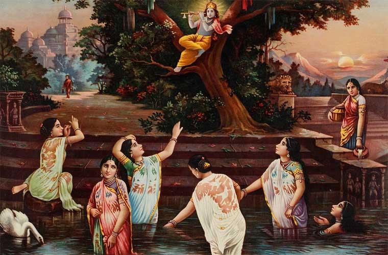 Shri Krishna Bastr Haran Lela