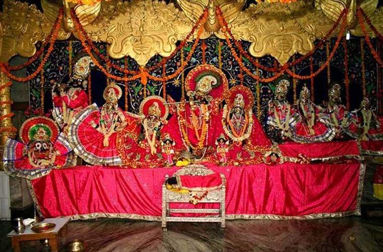 Radha Damodara Temple Vrindavan