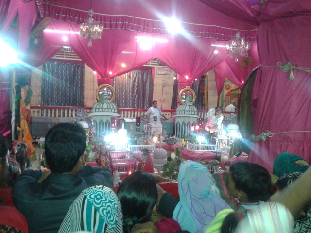 Pink Ghata At Shri Dwarkashish Temple Mathura