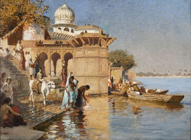 Mathura old places painting