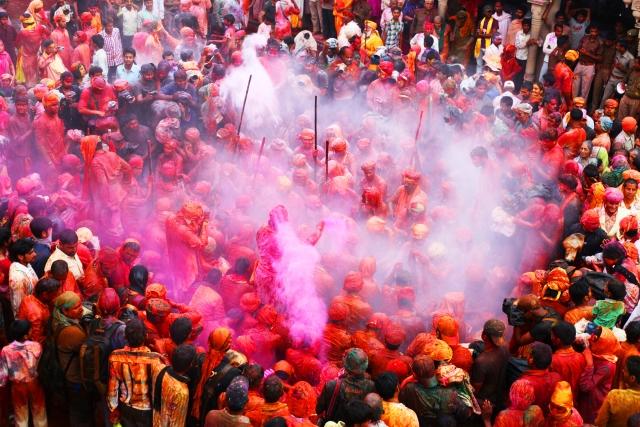 Barsana Holi Festival Mathura