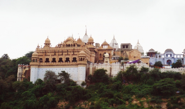 Shri Ji Temple View Brsana