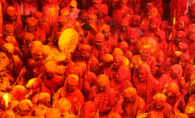 Barsana best places to play holi
