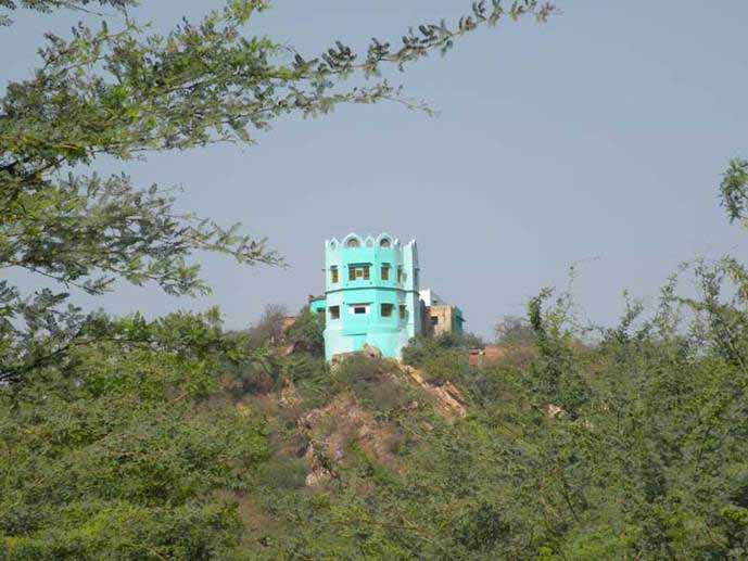 Mor Kutir Barsana Temple