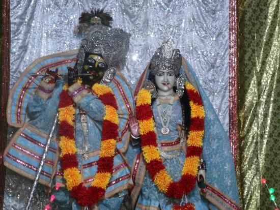 Shri Radha Krishna Idel at Pagal Baba Temple Vrindavan