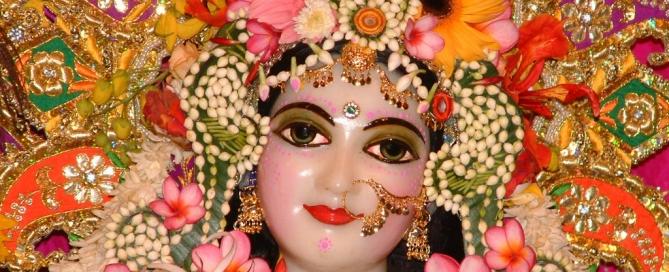 Radha Rani Darsan Barsana Mathura
