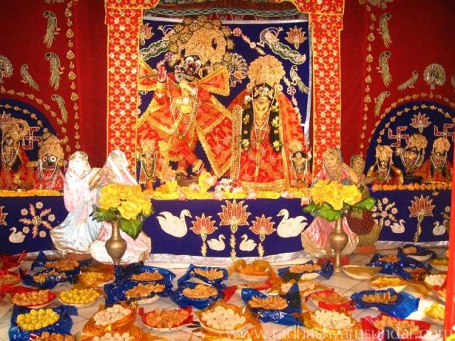 Radha Syamasundara Temple Vrindavan