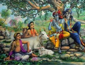 Krishna And Balaram