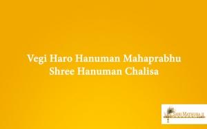 Jai Jai Shree Hanuman Chalisa