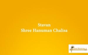 Stavan Shree Hanuman Chalisa