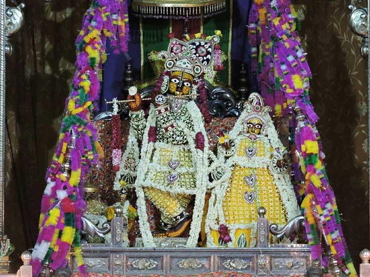 Govind Dev Ji Temple Vrindavan