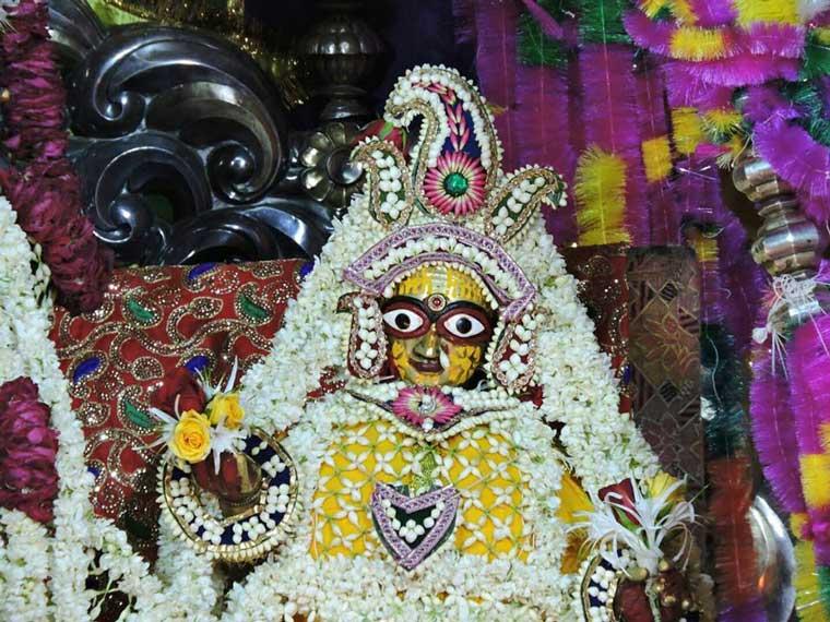 Radha Rani Ji Govind Dev Ji Temple Vrindavan