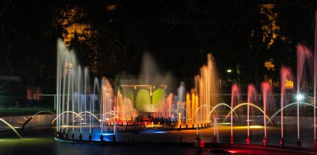 Musical Fountain Brindavan Gardens Prem Mandir Vrindavan