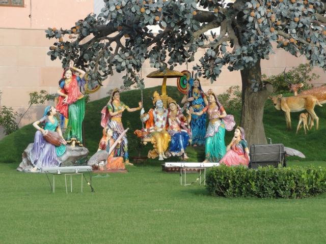 Radha Krishna Leela Prem Mandir Vrindavan