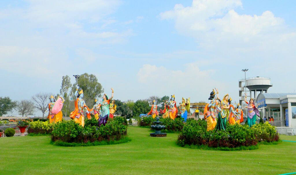 Rass Leela at Prem Mandir Vrindavan
