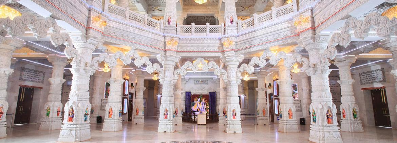 Inside Picture Prem Mandir Vrindavan