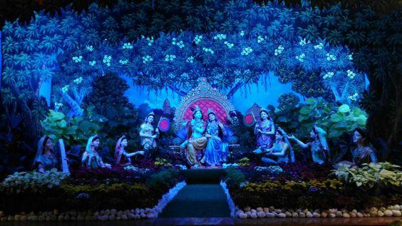 Shri Radha Krishna Idle Prem Mandir Vrindavan
