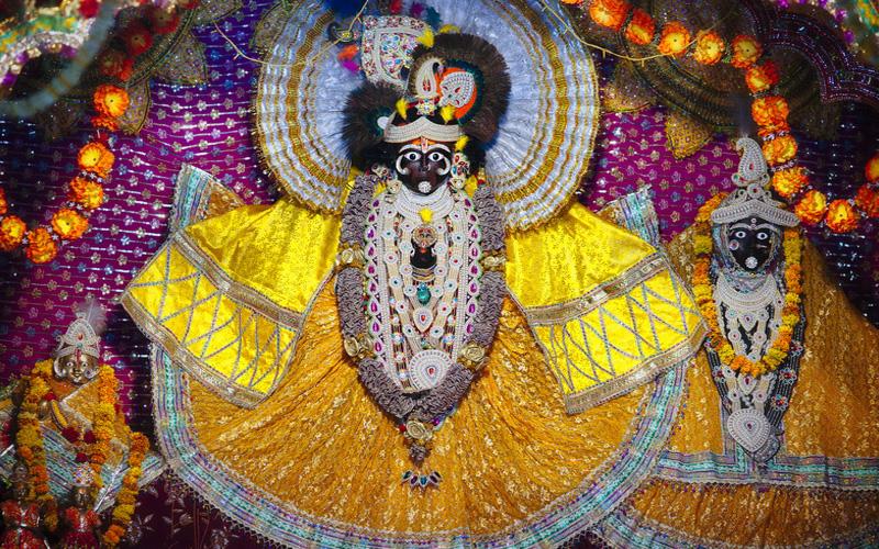 Shri Garud Govind Ji Temple Vrindavan