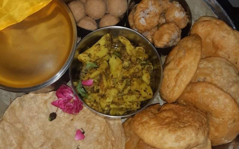 Shri Banke Bihari Ji Bhog Seva