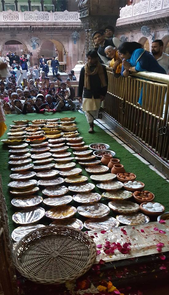 Shri Banke Bihari Ji Chhappan Bhog Seva