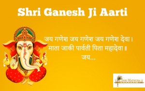 Shri Ganesh Ji ki Aarti in Hindi